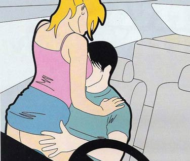 Chinese sex in car 7